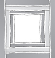 Torn Paper Border vector image vector image