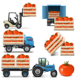 Agricultural Icons Set 2 vector image vector image