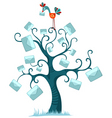 animation tree vector image vector image