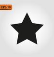 black star - icon star icon star vector image vector image
