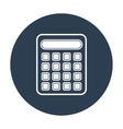 Calculator icon Flat design vector image vector image