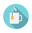 cup of tea icon vector image vector image