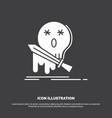 death frag game kill sword icon glyph symbol for vector image vector image