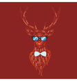 Hipster Stag3 vector image vector image