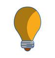 light energy bulb to illumination vector image vector image