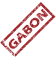 New Gabon rubber stamp vector image vector image