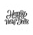 New Year 2016 vintage greeting card vector image vector image