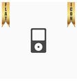 Portable media player icon vector image vector image