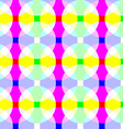 seamless wallpaper - easy change color vector image vector image