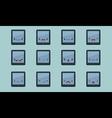 Tablet emoji vector image