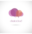 Creative cloud symbol vector image