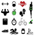 fitness resize vector image