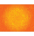 Abstract background for design Orange pattern vector image