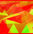 abstract triangular mosaic background vector image vector image