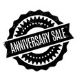 anniversary sale rubber stamp vector image vector image