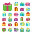 big presents collection of vector image vector image