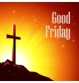 Good Friday with the image of