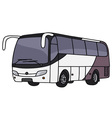 Touristic bus vector image