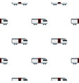 train pattern seamless vector image vector image
