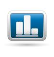 Business diagram icon vector image