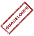 New Guadeloupe rubber stamp vector image vector image