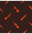 Seamless pattern with shock absorber vector image