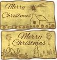 symbols of christmas vector image vector image
