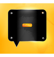 Black and Yellow Industrial Backdrop vector image vector image