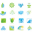 Environment set of icons