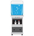 office water cooler vector image vector image