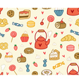 Party sweets and treats vector image