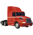Red Truck vector image vector image