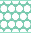 tile pattern with dots on pastel background vector image vector image