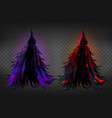 witch costume grim reaper fancy dress vector image vector image