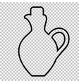 amphora sign line icon