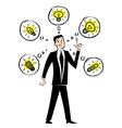 Creative businessman