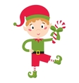 Elf helper vector image