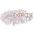 fitness and you re health text background word vector image vector image