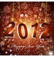 new years background with the numbers 2012 vector image vector image
