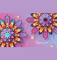 origami trendy design template paper cut abstract vector image