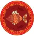 ornamental fish vector image