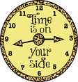 Time Is On Your Side vector image