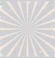 vintage grunge rising sun sunburst pattern vector image