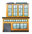 A big building vector image vector image