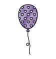 balloon air party decoration vector image vector image
