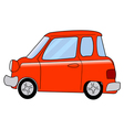 cartoon minicar vector image