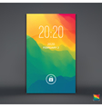 Modern Lock Screen for Mobile Apps vector image vector image