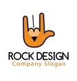 Rock Design vector image vector image