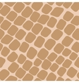 Seamless orange pattern with paving stones vector image