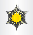 star in universe stars sun sunlight abstract vector image